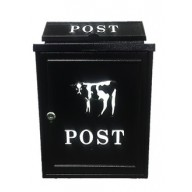 Post Box - Cow Design